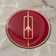 Burgundy Oldsmobile Wire Wheel Chips Emblems Decals Set Of 4 Size 225in