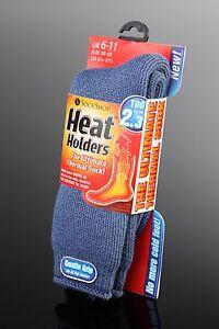 12-Pairs-Mens-GENUINE-Thermal-Winter-Warm-Heat-Holders-Socks-6-11-uk-Denim-Blue