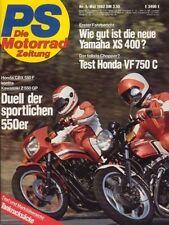 PS8205 + Vergleich HONDA CBX 550 F vs. KAWASAKI Z 550 GP + PS 5/1982