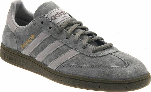 Mens Adidas Spezial Trainers Shoes Beige Iron Aluminum Gum G12599 uk 7
