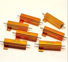 5Pcs 25W Watt Power Metal Shell Wirewound Resistor 120 Ω ~ 800 Ω ohm Class J ±5/%
