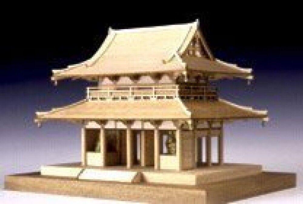 Woody JOE 1 150 Wooden Model Kit Horyu-ji Nakamon Brand New Best Buy from Japan