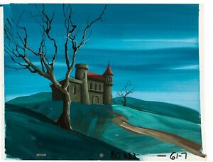 Scooby Doo (1972) Production Background Animation art Ghosts Phyllis Diller cel