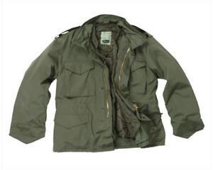 Feldjacke-M65-US-Army-Jacke-Winterjacke-gefuettert-2in1-Outdoor-Jacke-Gr-S-3XL