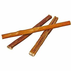 "9"" Straight Bully Sticks for Dogs or Puppies (10 Pack) All Natural & Odorless Bu"