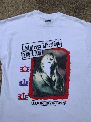 Vintage 1994 Vintage Melissa Etheridge band tshirt