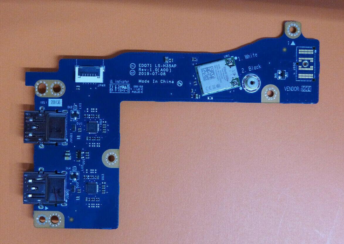 Alienware M17 R2 Network Card USB Board LS-H35AP 197V2
