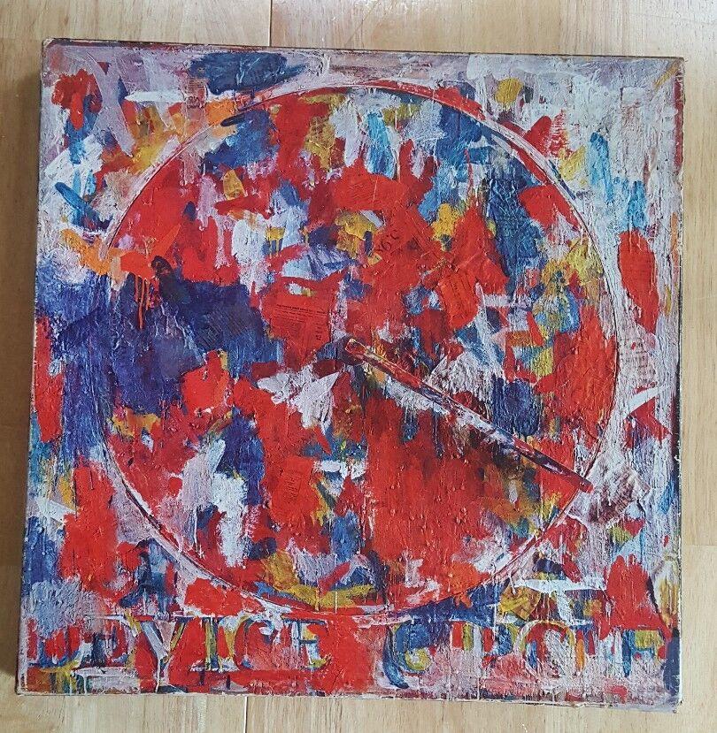 RARE Vintage 1968 Jasper Johns DEVICE CIRCLE Springbok Puzzle 20.25  Unsealed