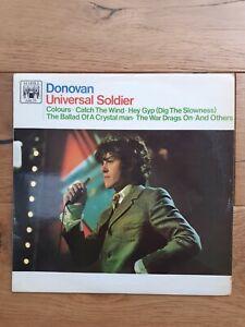 Donovan-Universal-Soldier-MAL-718-Vinyl-LP-Compilation-Mono