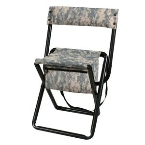 Rothco Deluxe Folding Stool With Pouch Ebay