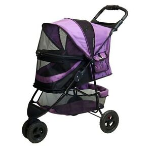 PET-GEAR-SPECIAL-EDITION-NO-ZIP-PET-STROLLER-034-3-034-COLORS-FREE-SHIPPING-IN-U-S
