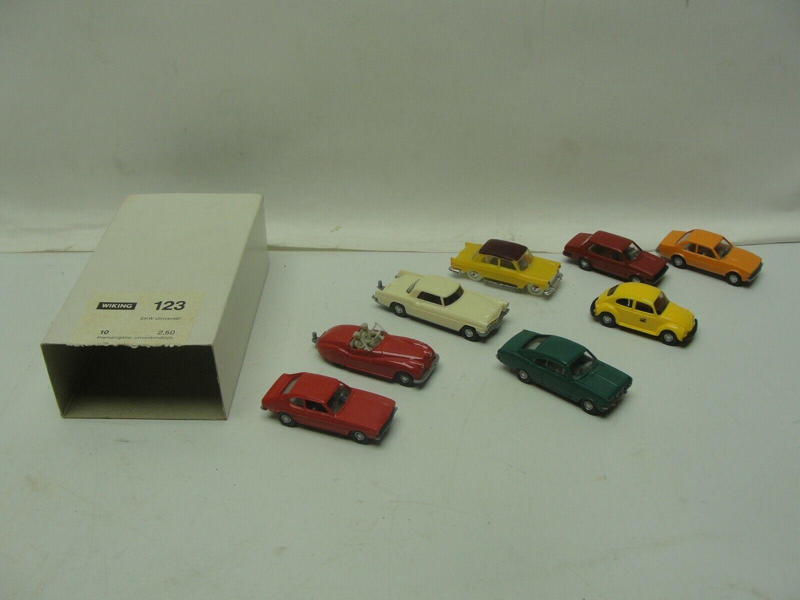 con 60% de descuento (8) Vintage Wiking VW Volkswagen EsCocheabajo Jetta Jaguar Opel Capri Capri Capri Alemania 1 87 coche  más vendido