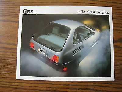1996 AMAZING AD Folder GM EV1 Saturn Electric Car Brochure FREE SHIPPING