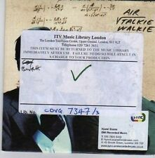(CK253) Air, Talkie Walkie - 2003 DJ CD
