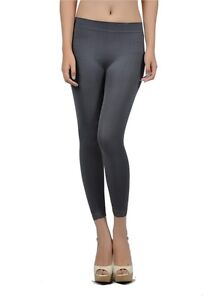 New Seamless GREY CAPRI Yoga Pants Stretch Sexy Spandex Tight ...
