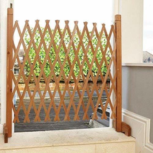 Barrera mascota independiente Escalera de alto perro puerta de expansión de Valla Para Exterior E Interior