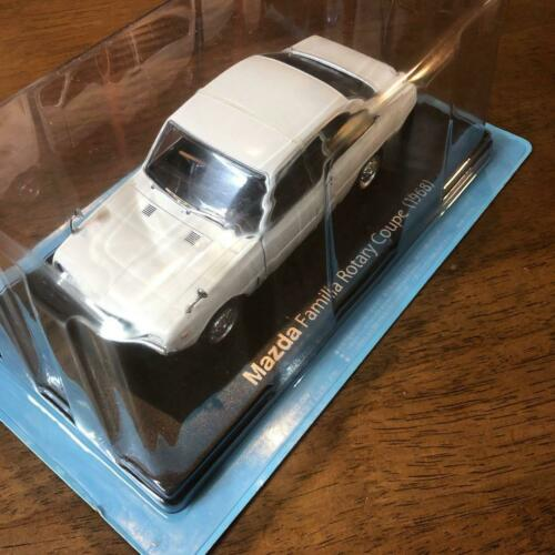 45 Hachette Mazda Familia Rotatif Coupe 1968 1//24 voitures japonaises Collection Vol