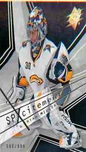 2008-09-Upper-Deck-Spx-Hockey-Ryan-Miller-X57-RC