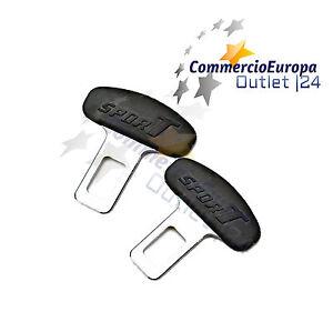 2-GANCI-CINTURE-DI-SICUREZZA-AUTO-STOP-BIP-AUTO-ALLARME-SPINOTTO-ANTI-BIP-SYSTEM