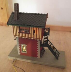 Vollmer-H0-5731-Railway-Control-Tower-034-Moosbach-034-Pre-made-Illuminated