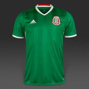 b044a2294a4 Image is loading adidas-mexico-home-2016-jersey-kids