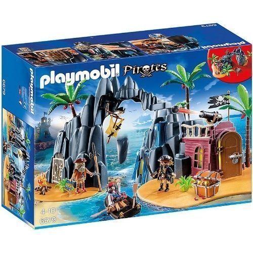 PLAYMOBIL PIRATES-Pirate Trésor île  6679 NOUVEAU & NEUF dans sa boîte  pas cher en haute qualité