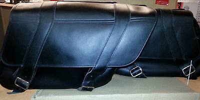 YAMAHA STAR SLANT PLAIN SADDLE BAGS - XVZ V-STAR ROYAL ROAD STAR STR-4NK73-10-00