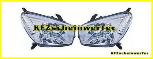 Toyota RAV 4 Bj.00-03 NEU headlights set headlamps Scheinwerfer-Satz li+re