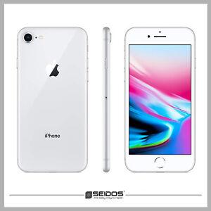 APPLE-IPHONE-8-64GB-SILBER-OHNE-VERTRAG-TOP-HANDY-SMARTPHONE-WIE-NEU