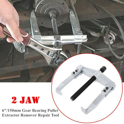 """6/""""Heavy Disassemble 2 Jaw Gear Hub Bearing Puller Extractor Remover Repair Tool"""