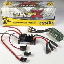 Castle Creation 1/18 Mamba Micro X Waterproof ESC w/ 0808 8200Kv Brushless Motor