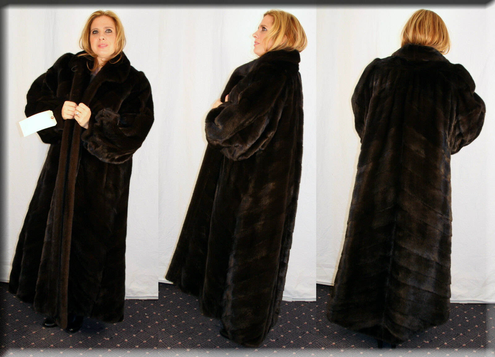 New Directional Ranch Ranch Ranch Mink Fur Coat - Size 2 Extra Large 18 20 2XL - Efurs4less 63b582