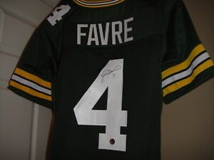 wholesale dealer f5f42 10457 Details about Brett Favre Autograph Jersey COA w/picture Auto Green Bay  Packers Football HOF