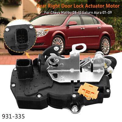 931 335 Door Lock Actuator Motor Rear Right For 08 12 Chevrolet Saturn 931335 Us