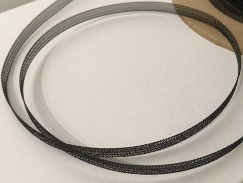 "10 yds #MHB93 Black Narrow Horsehair Braid Trim Crinoline Trim  5mm 3//16/"""