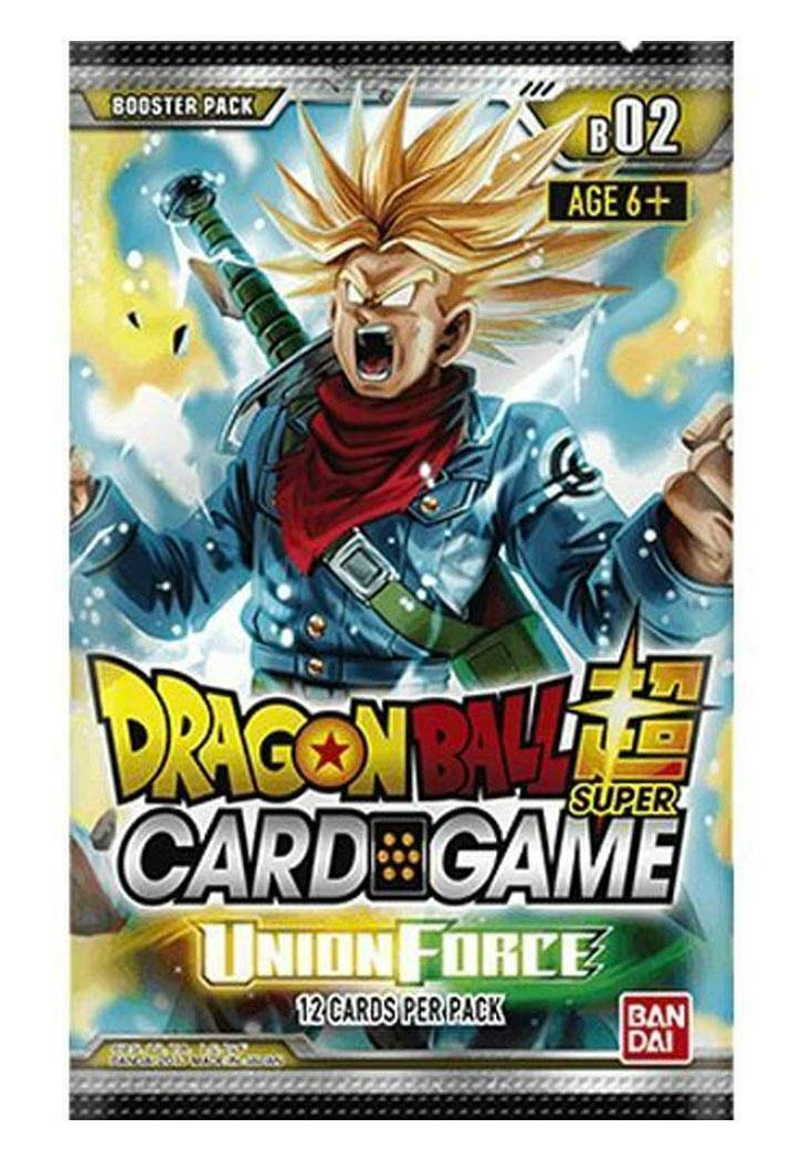 Dragonball super - kartenspiel, staffel 2 - display union kraft (24)  englisch fnf