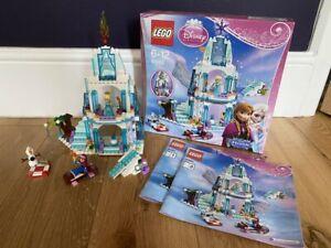 LEGO-Disney-Frozen-41062-Elsa-039-S-MOUSSEUX-Chateau-de-glace