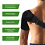 Shoulder-Brace-Rotator-Cuff-Compression-Support-Arm-Injury-Prevention-Sleeve-GYM thumbnail 5