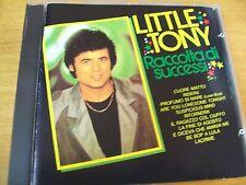 LITTLE TONY RACCOLTA DI SUCCESSI CD RARO RICORDI NO BARCODE