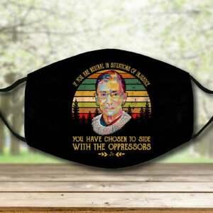 Ruth Bader Ginsburg Notorious RBG RIP 1993 2020 vintage face mask