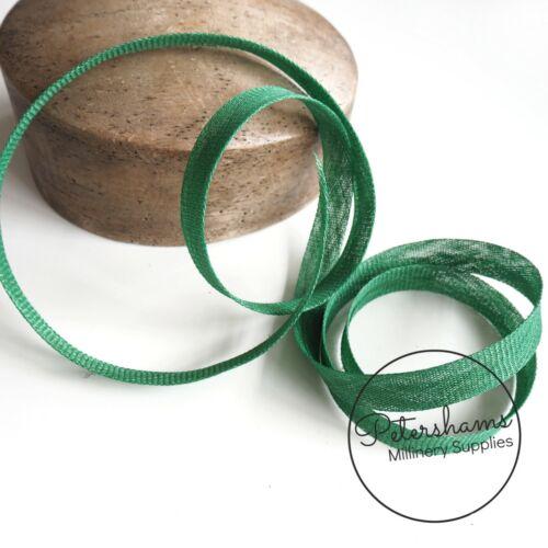 Tira De Cinta De Unión 2cm endurecidas sesgo 1.6m//1 .7 metros para sombrerería y sombrero haciendo