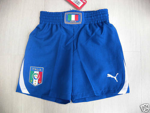 0728 SIZE M ITALY ITALY SHORTS SHORTS COMPETITION blueE MATCH SHORTS