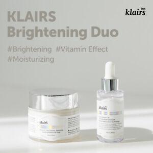 [Klairs] Brightening Duo/ Freshly Juiced Vitamin Drop+Vitamin E Mask