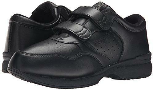 Propet Life Walker Strap - Men's Orthopedic Walking shoes Black - 15 5e Us