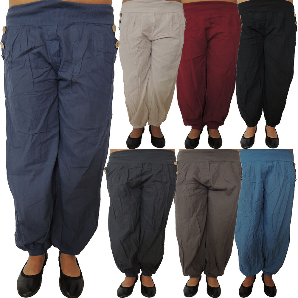 5-10 Piece Harem Hose With Tastes Größe 42, 44, 46 Harem Hose Pump Trousers