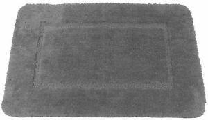 Gris-Doux-Cashmere-Feel-Chenille-Anti-derapant-Tapis-de-Bain-Tapis-50-X-80CM
