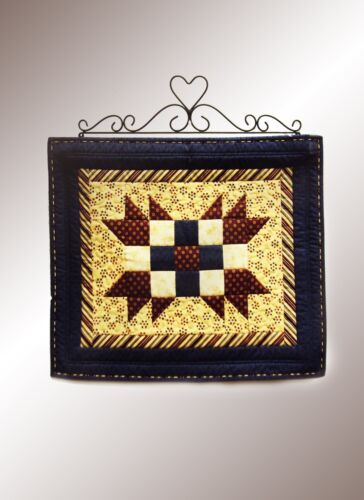 JJ Wire Heart//Curly Quilt Holder Small