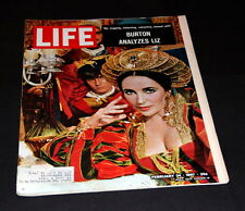 LIFE MAGAZINE FEBRUARY 24 TH 1967 ELIZABETH TAYLOR
