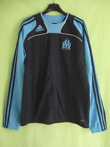 Détails sur Sweat Adidas Vintage Olympique Marseille OM Clima365 jersey 174 M