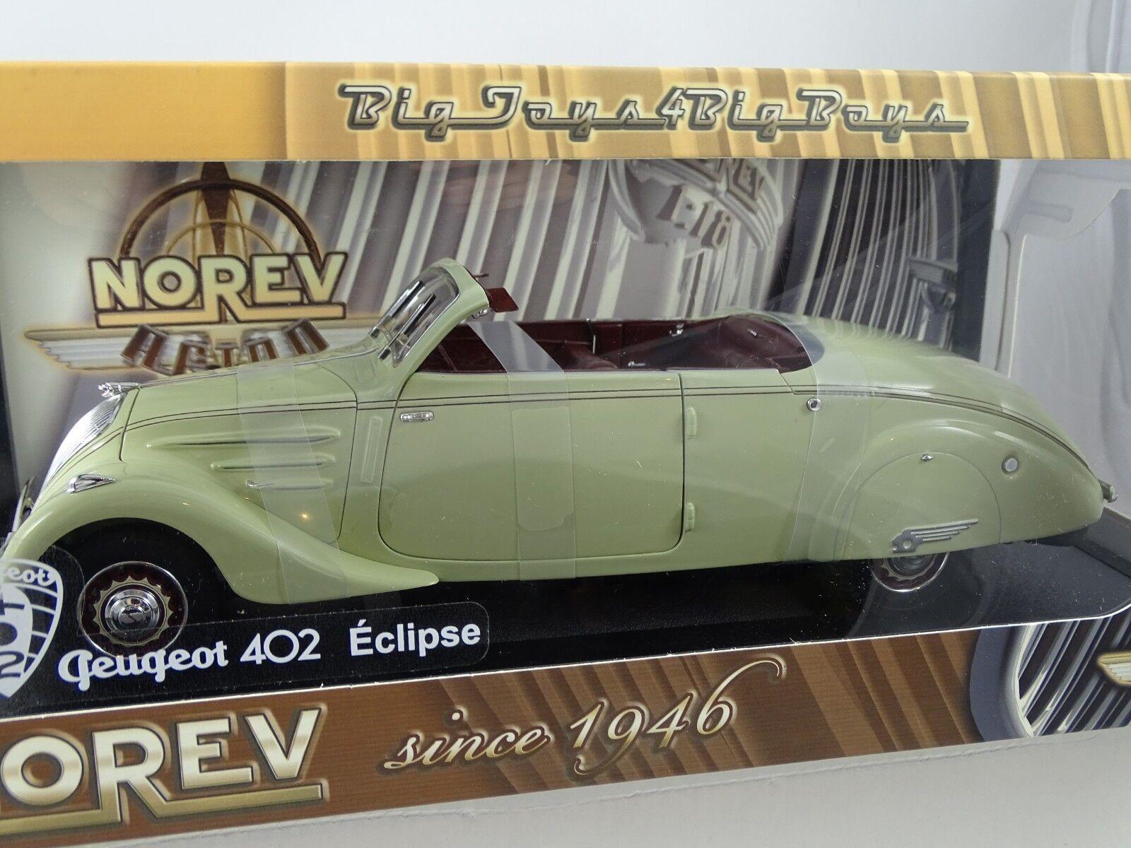 1 18 Norev Peugeot 402 Eclipse Cabriolet